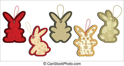 Sales Tag Rabbits