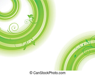 abstract green background vector il