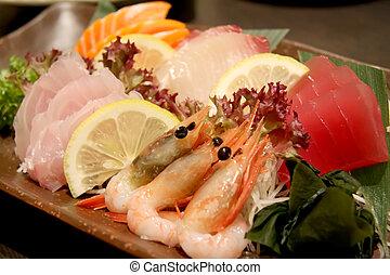 prato, sashimi