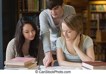 Estudiante, Porción, el suyo, compañeros de...