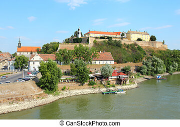 Petrovaradin, Novi Sad - Novi Sad, Serbia - city in the...