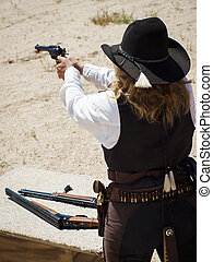 Target Shooting - 2012 annual match of Colorado Shaketails...