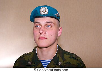 Russian Solder - Russian brave solder, paratrooper, airborne...