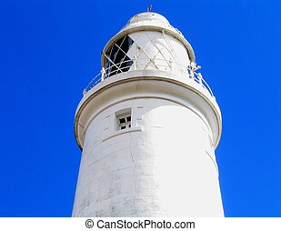 Light House - Light house in a clear blue sky