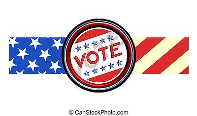 Icon vote - Creative design of icon vote