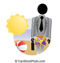 Company holiday - Creative design of company holiday