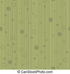 Olive Circles - A seamless pattern of olive green colored...