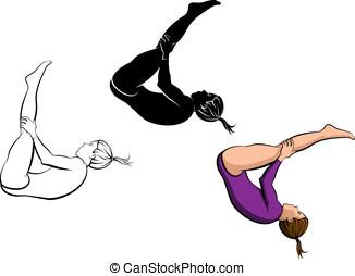 Gymnastik, dråsa