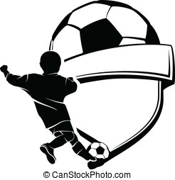 Boy Soccer Shield