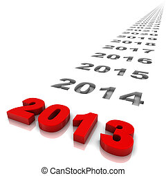 Year 2013 - New year 2013 and the years ahead Part of a...