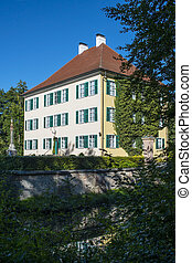 Small Sisi Castle on a summer day - Small Sisi Castle in...