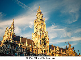 New Town Hall in Munchen - New Town Hall in Munich, Germany