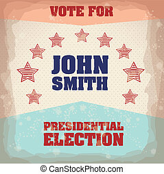Illustration of USA Elections