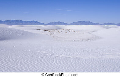 White Sands Park - White Sands National Park in New Mexico...