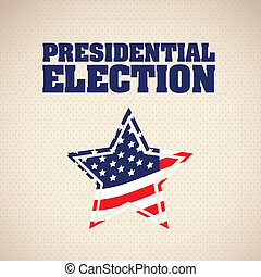 Illustration of USA Elections, Political Campaing USA,...