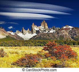 Mount Fitz Roy, Argentina - Mount Fitz Roy, Los Glaciares...