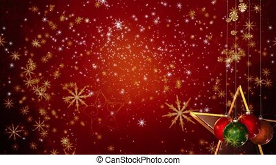 christmas background -...