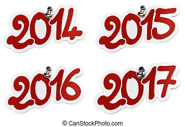 2014, 2015, 2016, 2017 two thousand fourteen, two thousand...