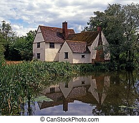 Willy Lotts Cottage, Flatford, UK. - Willy Lotts Cottage...