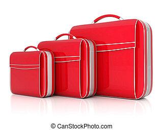 Rød, Kuffert