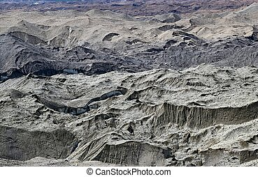 Glacial Moraine near Kennecott in Alaska - Glacial moraine...