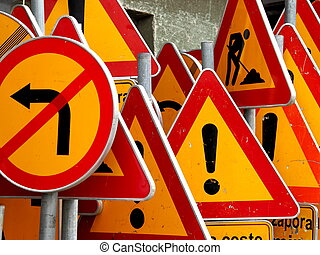 Road signs - Road signs