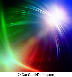 rainbow colorful lights - abstract rainbow colorful rays...