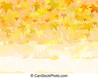 autumn background with text space - background with...