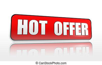hot offer banner