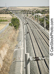 rail high speed Madrid-Seville