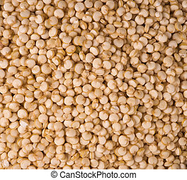 Quinoa - healthy, edible seed background - Macro shot.