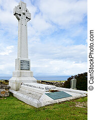 Grave of Flora MacDonald - Flora MacDonalds Grave on Isle of...