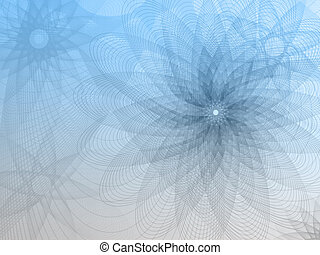 Abstract Mesh-flower background Flo