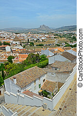 Spring view of Antequera - Antequera is known as the heart...