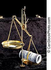 les, Équilibre, entre, drogues, argent