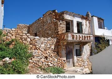 Derelict building, Alonissos island