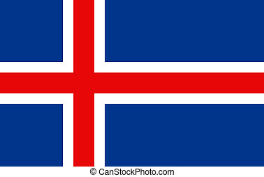 Iceland flag - Iceland national flag