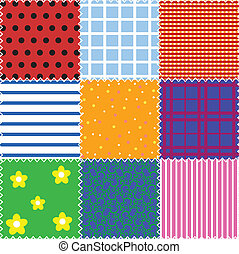 patchwork background - seamless patchwork background