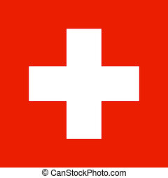 Swiss flag - Swiss national flag
