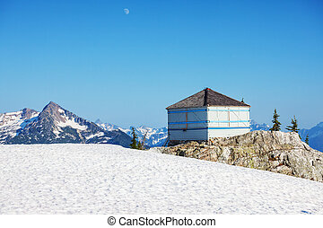 North Cascades - Sourdough Fire lookout