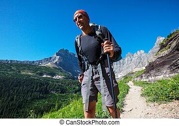 Hike in Glacier Park