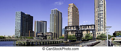 Long Island City Skyline - The Long Island City Skyline as...