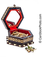 Vintage jewel box