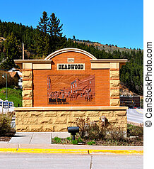 Deadwood Sign