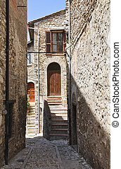 Alleyway Narni Umbria Italy