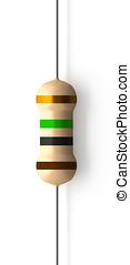 1000000 Ohms 1000 KiloOhms Resistor