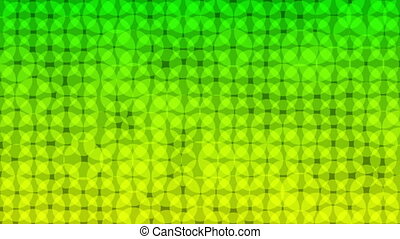 Green Yellow dots