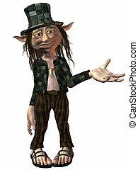 Tommy the Troll - 3D Render of an Troll