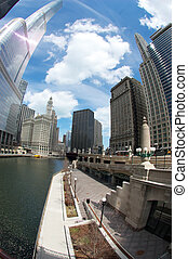 Chicago River during the daytime