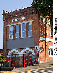 Old fire station - Old historical fire department